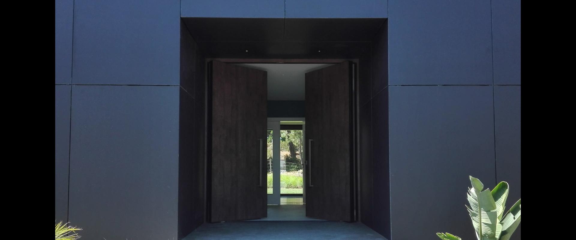 La porte d'entrée est le miroir de votre maison.